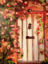 Heavens Door Painting by Florence Walker